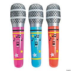 Jumbo Inflatable Microphones