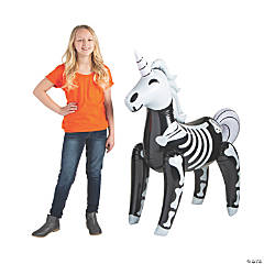 Jumbo Inflatable Unicorn Skeleton