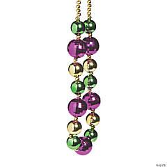 Jumbo Mardi Gras Beaded Necklace