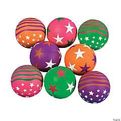 Jumbo Neon Star Handballs PDQ