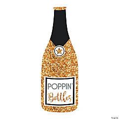 Jumbo New Year's Eve Bubbly Bottle Cutout