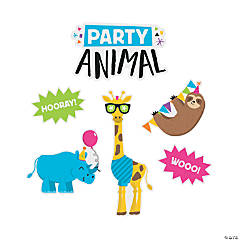 Jumbo Party Animal Cutouts