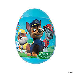 Jumbo Paw Patrol™ Candy-Filled Plastic Easter Eggs - 12 Pc.