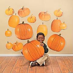 Jumbo Pumpkin Classroom Cutouts