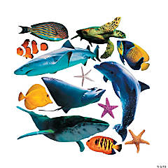 Jumbo Realistic Sea Life Cutouts