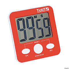 Jumbo Red Classroom Timer