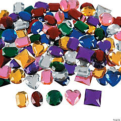 Jumbo Self-Adhesive Jewels