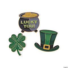 Jumbo St. Patrick's Day Enamel Pins