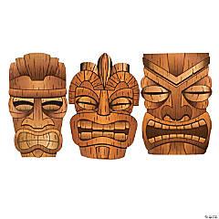 Jumbo Tiki Cutouts