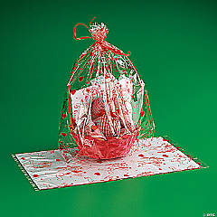 Jumbo Valentine Basket Cellophane Bags
