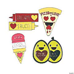 Jumbo Valentine Enamel Pins