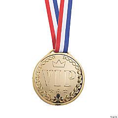 Jumbo VIP Reward Goldtone Medal