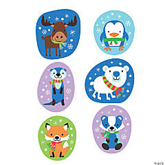 Jumbo Winter Critter Cutouts