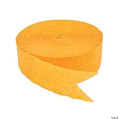 Jumbo Yellow Paper Streamer