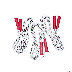 Jump Ropes with Plastic Handles