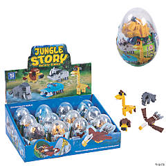 Jungle Animal Building Block Kits