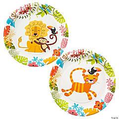 Jungle Baby Shower Dessert Plates