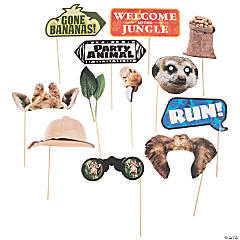 Jungle Photo Stick Props