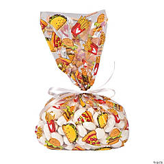Junk Food Cellophane Bags
