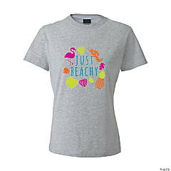 Just Beachy Women's T-Shirt - Large