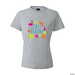 Just Beachy Women's T-Shirt - Medium