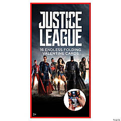 Justice League™ Folding Valentine's Day Cards