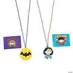 Justice League™ Light-Up Dog Tag Necklaces
