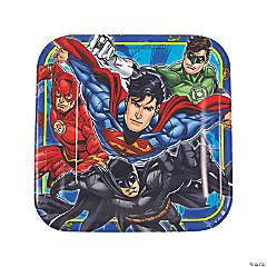 Justice League™ Paper Dinner Plates - 8 Ct.