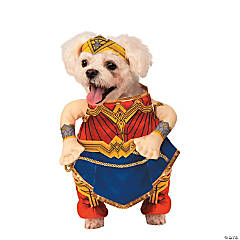 Justice League™ Wonder Woman Dog Costume - Medium