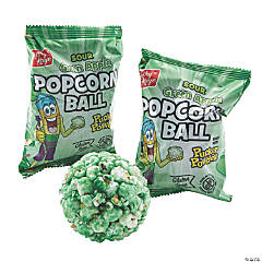 Kathy Kaye® Sour Green Apple Popcorn Balls