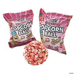 Kathy Kaye® Sweet Strawberry Popcorn Balls