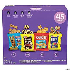 KEEBLER Cookie & Cracker Variety Pack, 45 Count