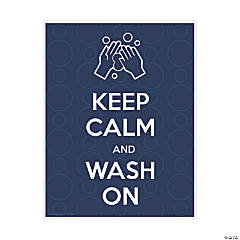 Keep Calm and Wash Your Hands Wall Decal