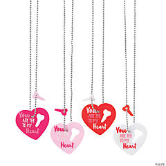 Key to My Heart Dog Tag Necklaces