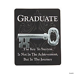 Key to Success Graduation Tokens on Cards