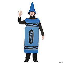 Kid's Blue Crayola® Crayon Costume - Large