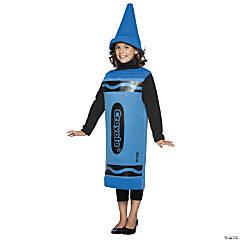 Kid's Blue Crayola® Crayon Costume - Medium