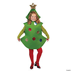 Kid's Christmas Tree Costume