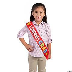 Kid's Congrats Grad Sash