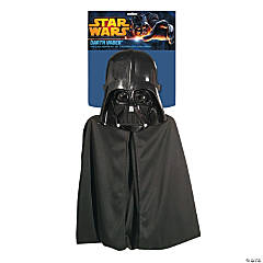 Kid's Darth Vader Cape & Mask Set