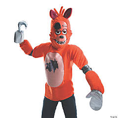 Kid's Deluxe Foxy Costume- Medium