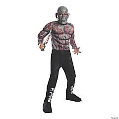Kid's Deluxe Muscle Chest Drax Costume - Large