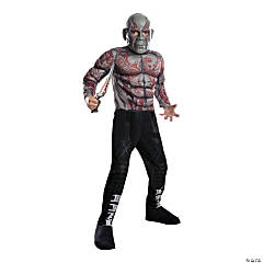 Kid's Deluxe Muscle Chest Drax Costume - Medium