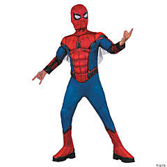 Kid's Deluxe Muscle Chest Spider-Man™ Costume - Large