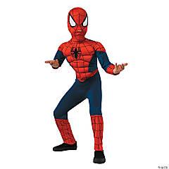 Kid's Deluxe Muscle Chest Spider-Man™ Halloween Costume - Medium