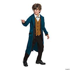 Kid's Deluxe Newt Scamander Costume - Large