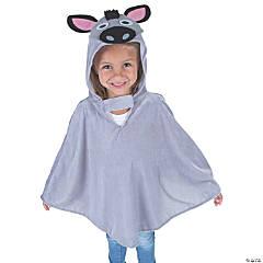 Kid's Donkey Poncho