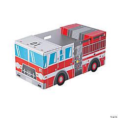 Kid's Fire Truck Box Costume