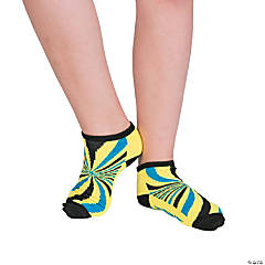 Kid's Fun Ankle Socks with Grippers - Medium