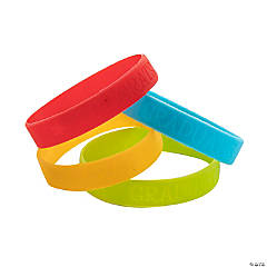 Kid's Grad Silicone Bracelets